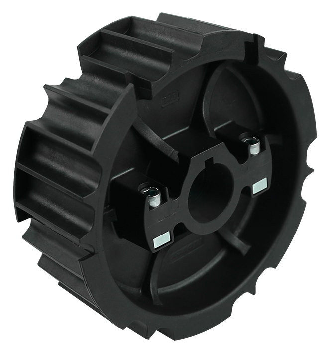 815 - DIVIDED, MOLDED TOWING WHEEL