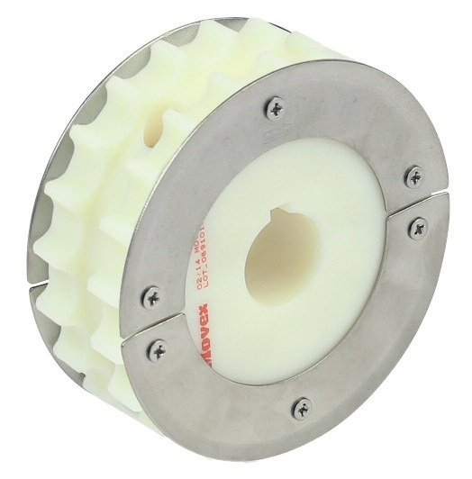 820 - SPLIT FLANGED WHEEL, MILLED
