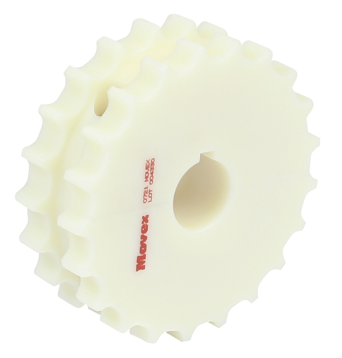 820-831 - SPLIT WHEEL, MILLED