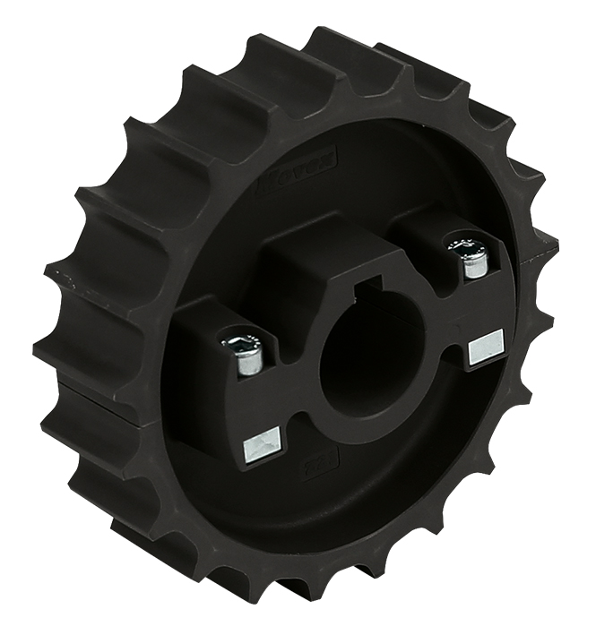 881 - DIVIDED, MOLDED TOWING WHEEL