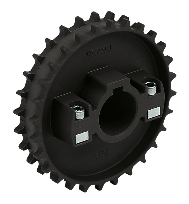 520 - DIVIDED, MOLDED TOWING WHEEL