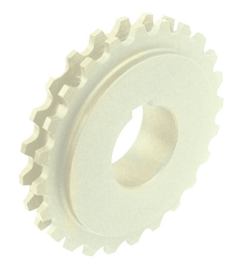 525-530 - DIVIDED, MILLED TOW WHEEL