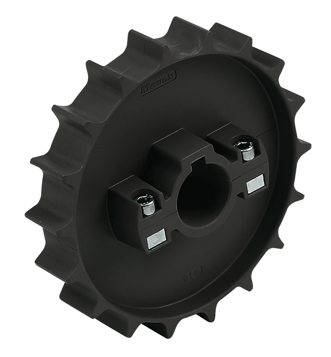 551 - DIVIDED, MOLDED TOWING WHEEL