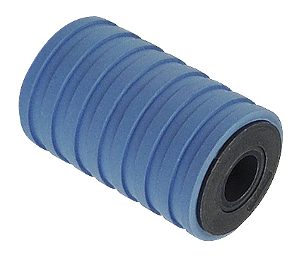 220 - RUBBER RETURN ROLLERS D = 47 MM